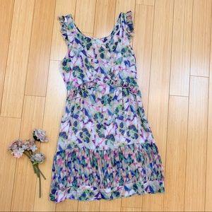 UO KIMCHI BLUE soft watercolor dress, S.